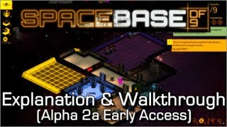 Spacebase DF-9  - Space Station Sim - Explanation, Gameplay & Walkthrough - WITH GIVEAWAY