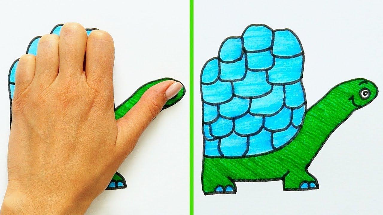 Dessin Avec La Main 21 astuces cools pour dessiner