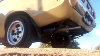datsun 120y b210 exhaust a12 powered