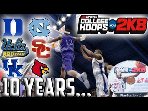 College Hoops 2K8 10 Years Later... The Greatest College Basketball Game Of All Time?