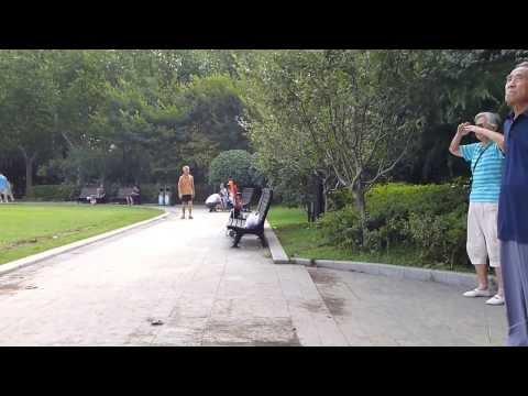 Fuxing Park Happenings: Shanghai, PRC