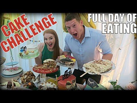 IIFYM Full Day of Eating! Wedding Cake Eating Challenge!!