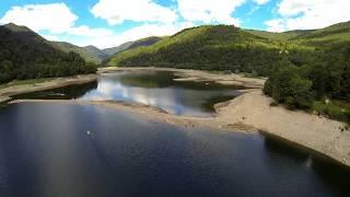 Lac de Kruth à bas niveau 2017
