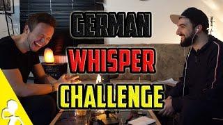 German Whisper Challenge [MultiCam] | Was sagst du? | Part 1 | Get Germanized /w VlogDave