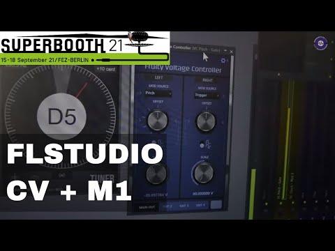 SUPERBOOTH 2021  FL Studio CV Control And M1 Native