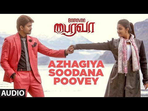 Bairavaa Songs | Azhagiya Soodana Poovey Full Song | Vijay,Keerthy Suresh |Santhosh Narayanan