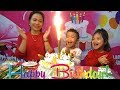 Happy Birthday to Anto at indoor playground Surprise gifts with Mommy and Diana - Family Fun Kids