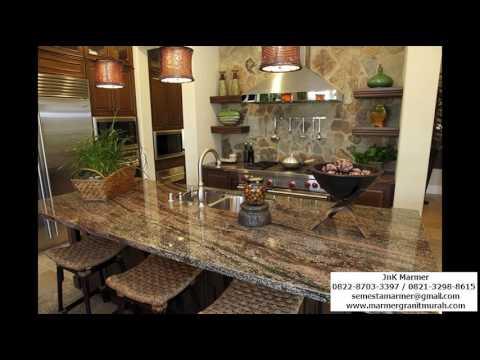 Kitchen Set Granit Hitam 0812 8606 6416 Wa Youtube