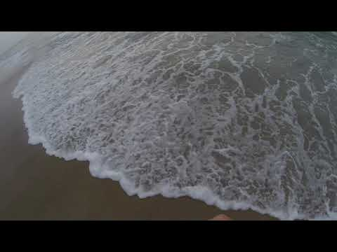 Light Tackle Flounder Surf Fishing In Chincoteague, Virginia August 2018