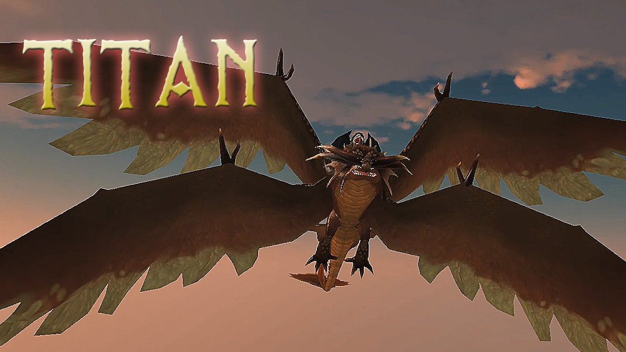 TITAN Stormcutter - School of Dragons - YouTube