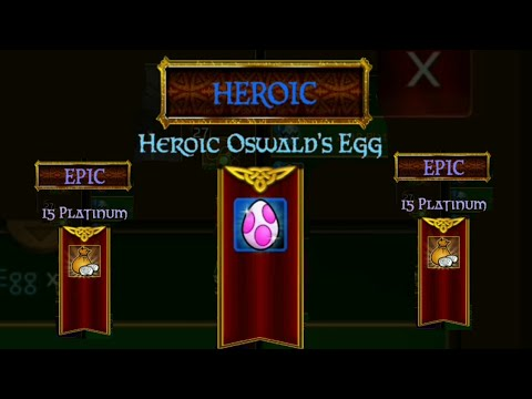Arcane Legends - Opening Platinum Egg - Winning Egg Heroic
