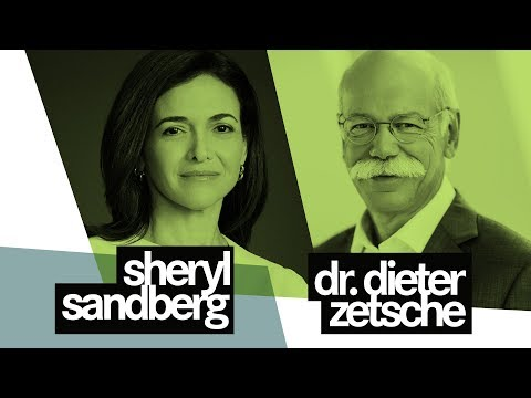 Sheryl Sandberg & Dieter Zetsche: Meeting of the Giants | me convention