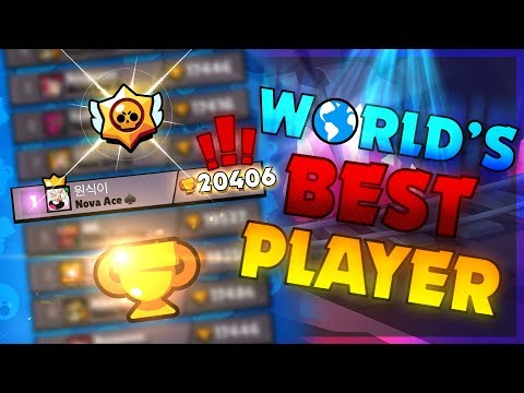 Best Brawl Stars Player In The World! Highest Trophies EVER!