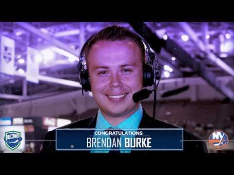 Congratulations, Brendan Burke