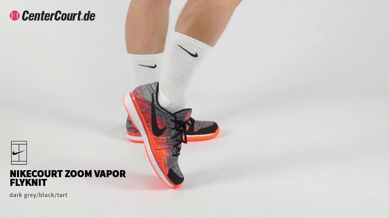 8937de9b9307 Nike Court Zoom Vapor Flyknit - YouTube