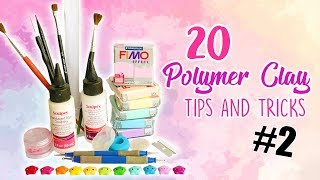 20 Polymer Clay Tips and Tricks for Beginners #2