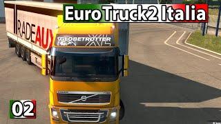 Euro Truck Simulator 2 Italia 🍕 Quer durch Italien ► #2 ETS2 Italien DLC deutsch