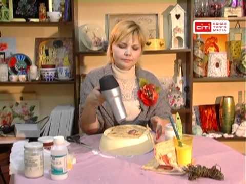 видео: Декупаж.Переделка сковороды.Максаева Леся.
