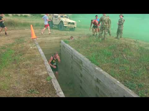 DFN:No Mans Land Trench Run 2018 JOHNSTON, IA, UNITED STATES 08.05.2018