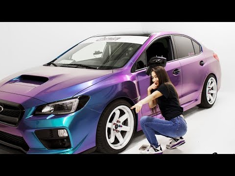 Worst Car Wrap Ever Can We Fix This Lady Driven 2017 Wrx Youtube