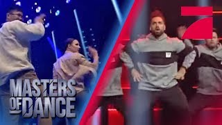 Primetime vs. Team Recycled: Welche Hip-Hop Crew rockt? | Masters of Dance | ProSieben | Audition