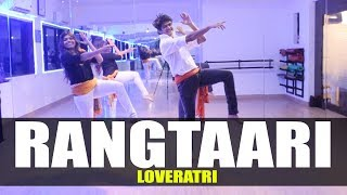 Rangtaari - Loveratri | Dance Choreography | GunRush