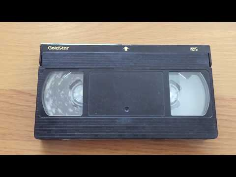 mouldy VHS Tape cleaned