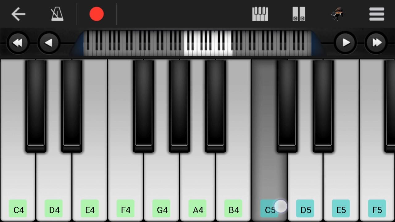 Kabhi Na Kabhi To Miloge Perfect Piano Hd Youtube