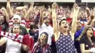 Los Gringos calientan el partido USA vs México con el  dos a cero
