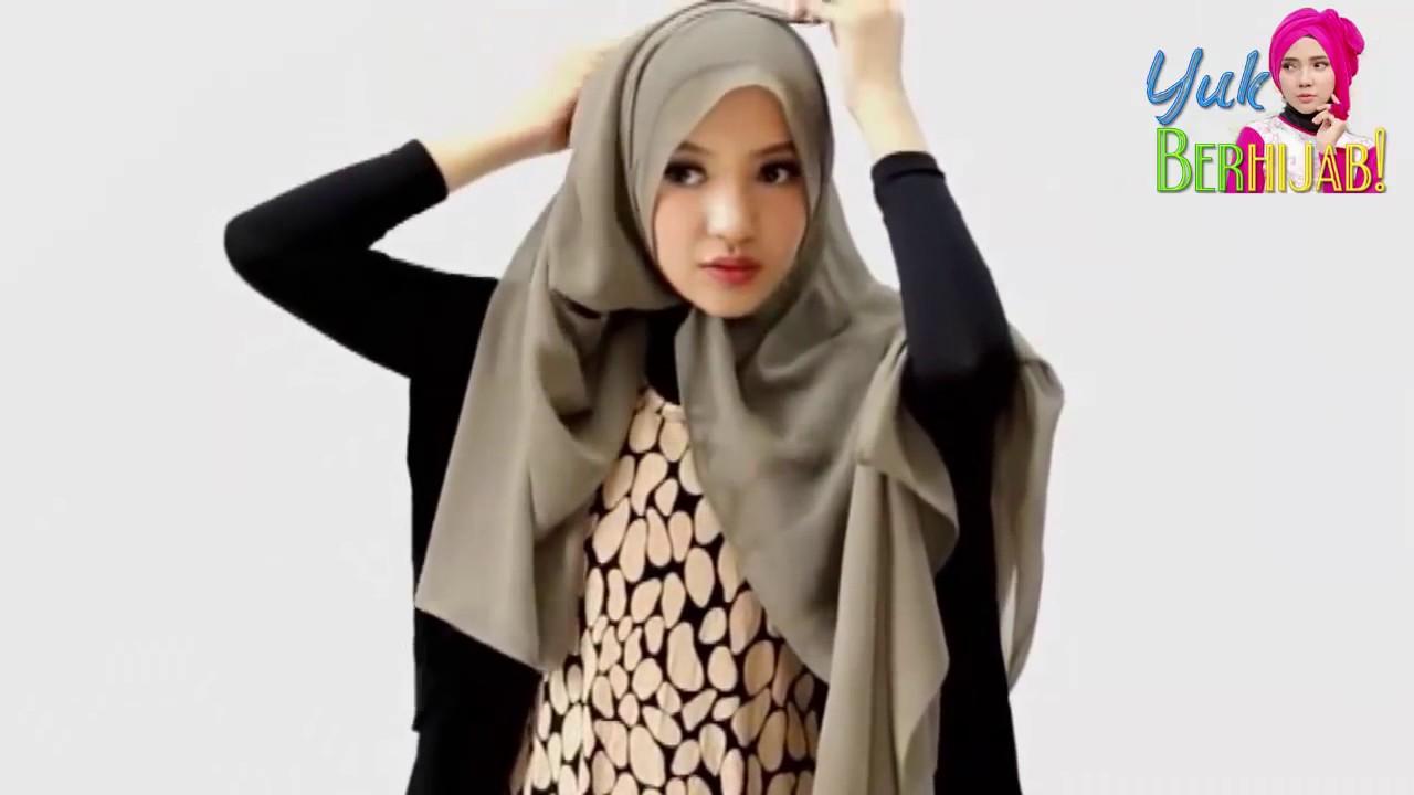 Tutorial Hijab Segi Empat Emma Queen