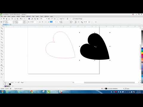 Corel Draw Tips & Tricks Mirror Tool At An Angle