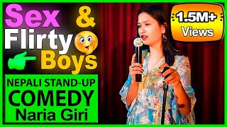 Flirty Boys, Friend Zone | Stand-up Comedy | Naria Giri | Laugh Nepal