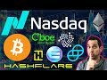 Secret NASDAQ Crypto Meeting | Winklevoss ETF Irrelevant 😱 HashFlare Back?!? $ENJ $IOTA