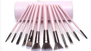 Luxie Lush Pink Perfection Collection Synthetic 12 Piece Makeup Thumbnail
