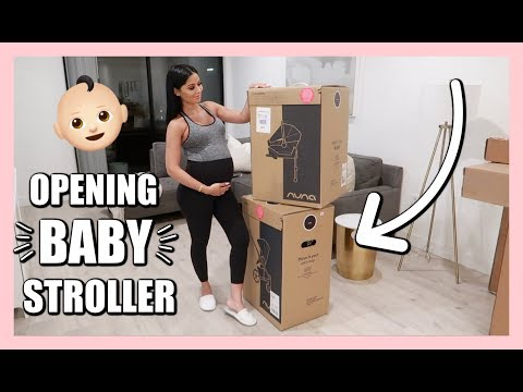 Unboxing Baby Stroller + Car Seat | Diana & Jose