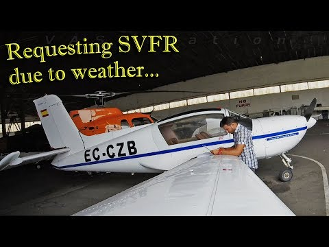 Weather changes our plans + Slats explanation | Socata Rallye 180GT