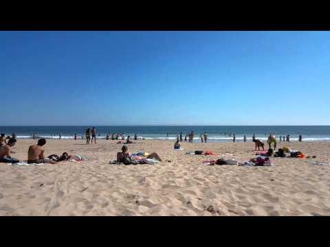 Carcavelos sea beach Portugal