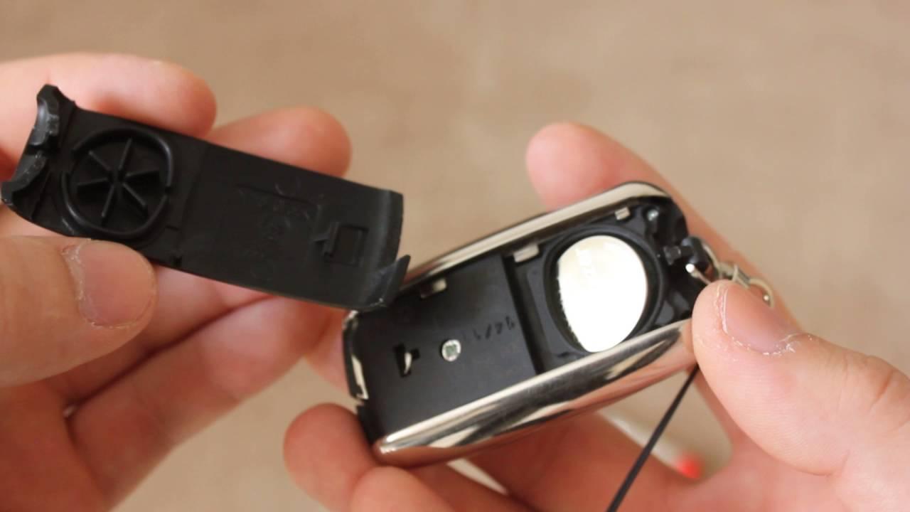 smart schlüssel batterie wechseln
