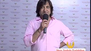 Actor  Mahesh Manjrekar at dahi handi Event Worli  by Shree Sankalp Pratishthan.|SachinAhir