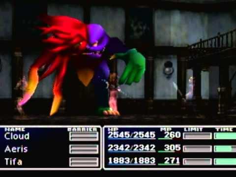 (018) Final Fantasy VII (7) 100% Walkthrough - Sins & Nightmares