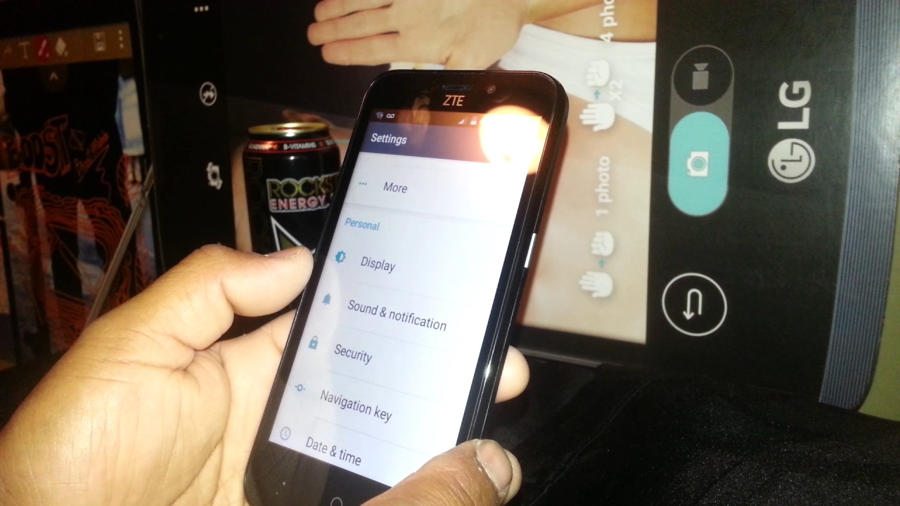 how to find zte model