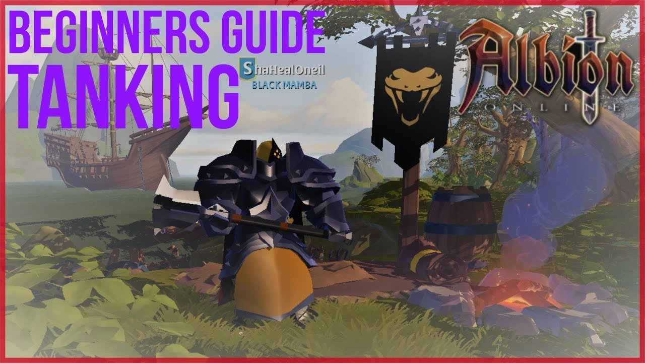 Albion online - Beginners Guide To Tanking - Tips and Gear Walk Through