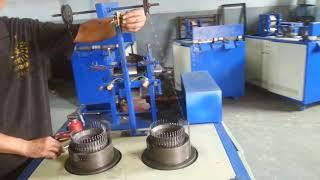 Оборудование для изготовления мочалок из металла и полипропилена