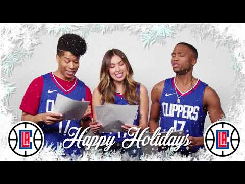 LA Clippers Holiday Card (feat. The Cast of Hamilton: An American Musical)