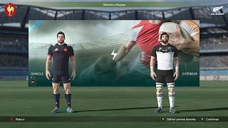 FRANCE - NOUVELLE-ZÉLANDE : Rugby 18 [PC]