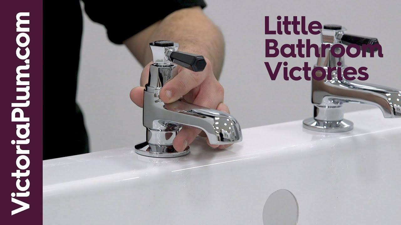 Bath tap washer size
