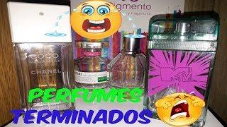 PERFUMES TERMINADOS /MORO LOVE💕