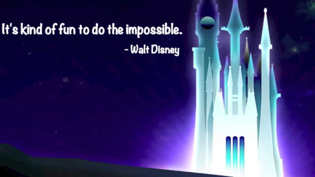 Walt Disney Quotes About Life Inspirational Walt Disney Quotes  Youtube