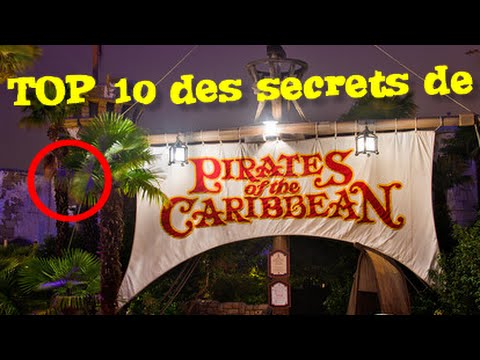 Top 10 des secrets de pirates des caraibes a disneyland paris youtube - Top 10 des cuisinistes ...