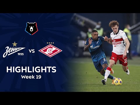 Zenit Petersburg Spartak Moscow Goals And Highlights